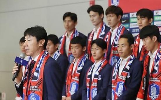 Korean footballers receive 1.15b won World Cup bonus