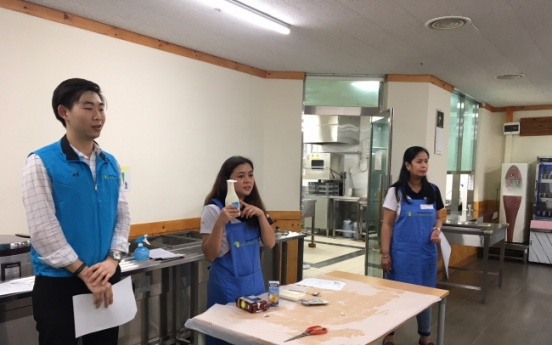 Bonding through cuisine: Disabled students learn culinary skills