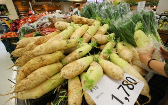 Vegetable prices jump 5.4% in single week from heat wave