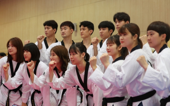 Korean taekwondo athletes vow to prove reputation at Asian Games