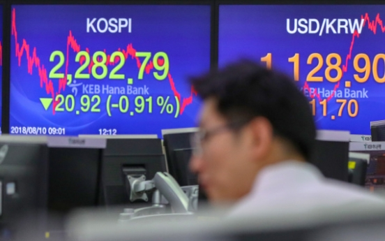Foreigners turn to net buyers of KOSPI shares in July