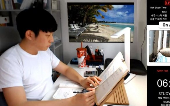 [Trending] Why do Koreans watch others studying alone on YouTube?