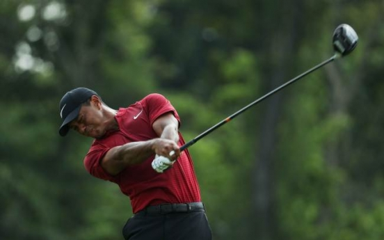 Tiger wakes up echoes with best major final round