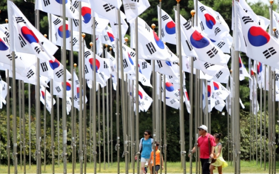 [Photo News] Koreans pay tribute to freedom fighters on 73rd anniversary of Liberation Day