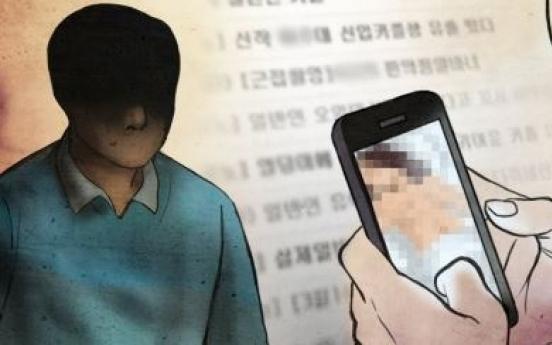 College student handed suspended jail term for 'revenge porn'
