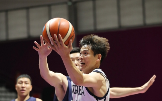 S. Korea handily beats Mongolia for 2nd straight men's hoops win