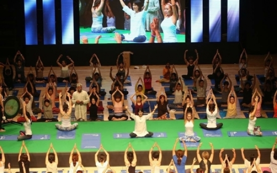 South Korean city throws hat in the ring as 'Yoga City'