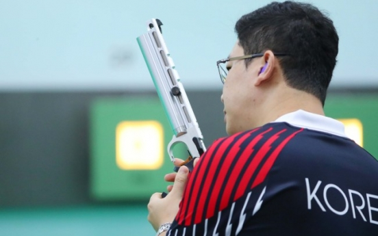 Korean shooting legend aims for his 1st individual gold