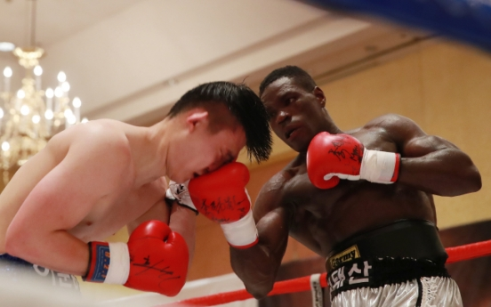 [Herald Interview] Cameroonian refugee reignites boxing dreams in Korea