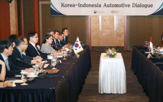 Seoul seeks partnership with Indonesia in auto business