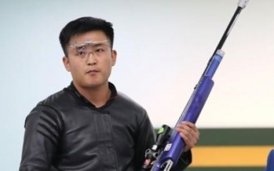 N. Korean shooter wins gold in 10m running target mixed