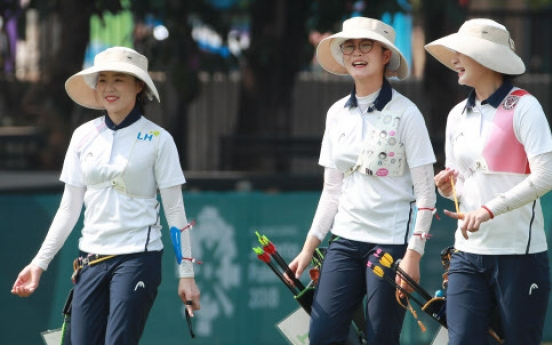 S. Korea beats N. Korea in women's archery team event