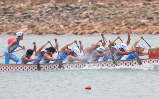Unified Korean canoeing team wins historic medal in women's 200m dragon boat racing