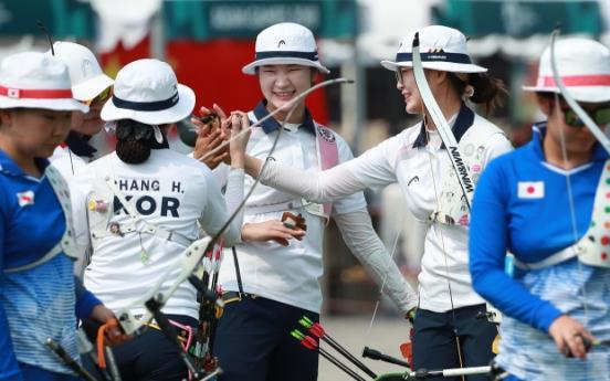 S. Korea set to go for compound archery gold sweep