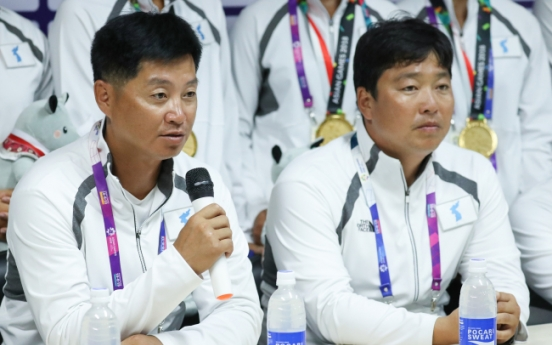 Coaches of unified Korean canoeing team hail athletes' grit for historic gold