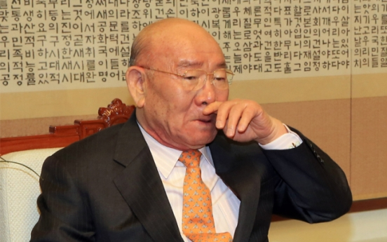 Ex-President Chun fails to show at libel trial, saying he has Alzheimer's