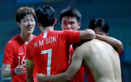 Korea beat Uzbekistan 4-3 in extra time to reach men's football semifinals