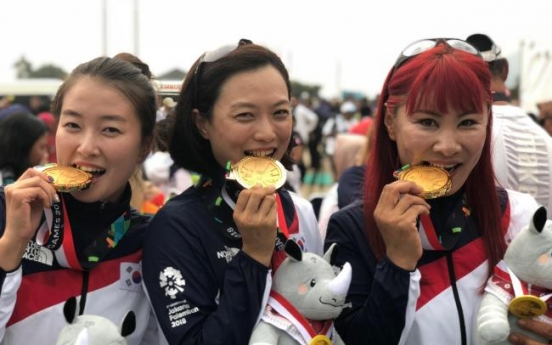 Korea wins paragliding gold in women's team cross country