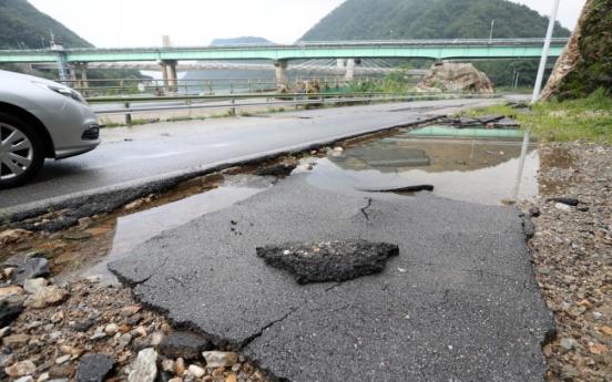 Torrential rain to move down peninsula