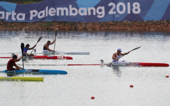 Cho Gwang-hee wins 2nd straight kayak gold