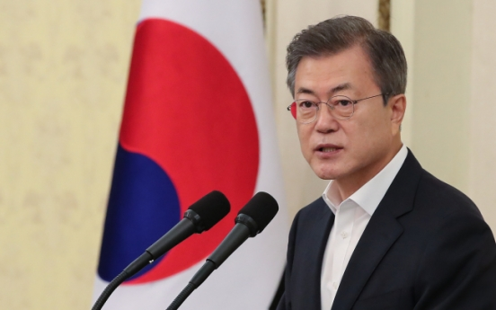 Moon says reform is call of 'the times'