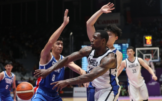 S. Korea beats Chinese Taipei for men's basketball bronze