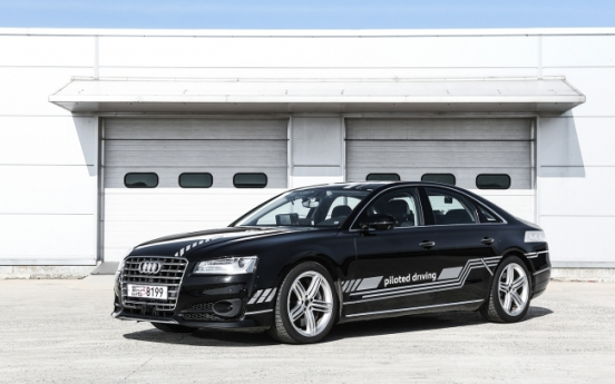 Audi tests A8 partial automation capabilities here