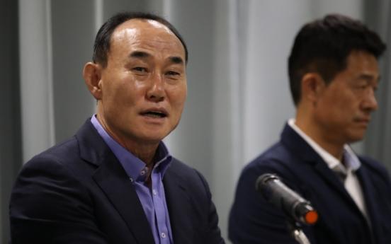 Korea U-23 football coach says team didn't talk about military service during Asian Games