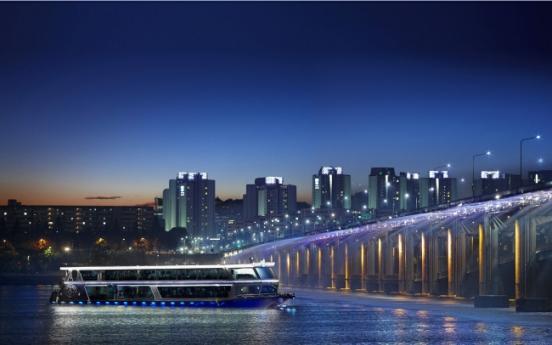 Gliding through Seoul on Han River ferry cruise