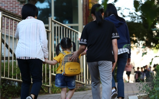 Preschoolers of collapsed building move to day care center