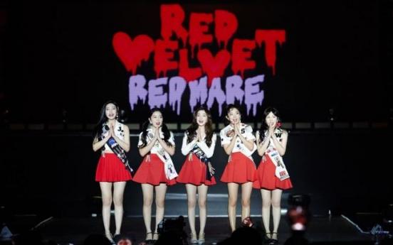 Red Velvet kicks off 'Red Mare' world tour in Thailand