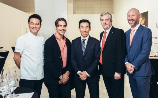 Australia's sustainably produced wines, food hit Korean market