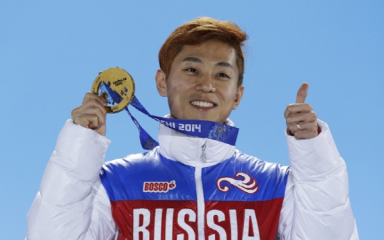 Speedskater Viktor Ahn dismisses rumors about post-retirement plan