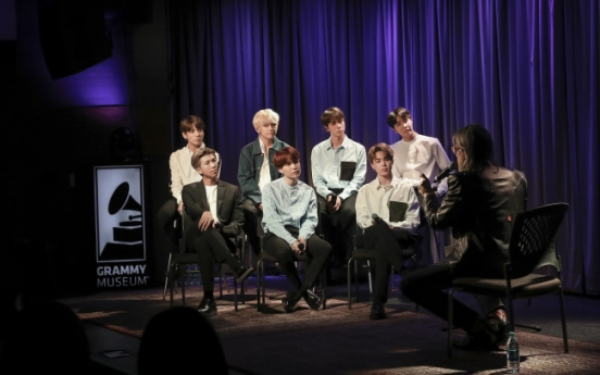 BTS talks about success in pop stronghold of US