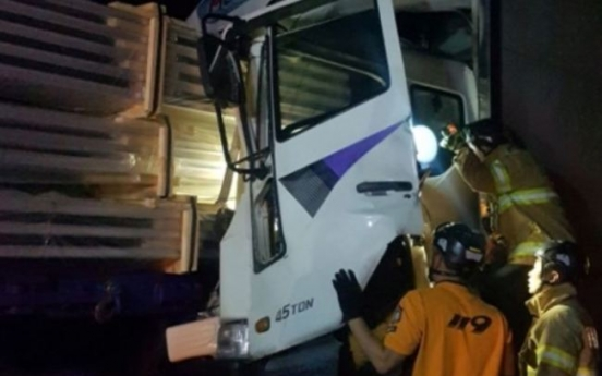4.5-ton cargo truck driver causes collision, killing one