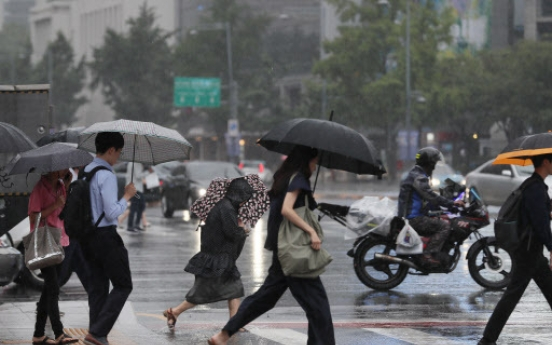 [Weather] Rain to expand nationwide, cease Saturday morning