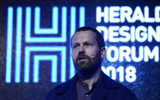[Herald Design Forum 2018] Designer Martino Gamper talks about 'Not Just a Chair'