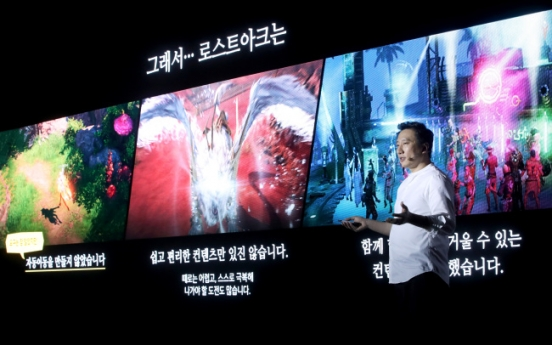 [Photo News] Smilegate to release MMORPG 'Lost Ark' on Nov. 7