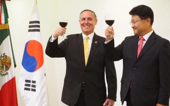 Mexico-Korea commerce set for smooth sailing
