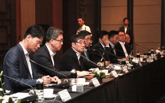 FSS chief touts Korea as 'financial hub,' riding on inter-Korean thaw