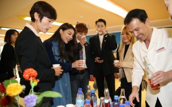 K-pop stars in Pyongyang react to 150,000-capacity event
