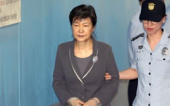 Justice Ministry refutes report that Park Geun-hye's health in decline