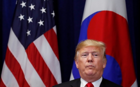 After North Korea, Trump targets Iran with 'maximum pressure'