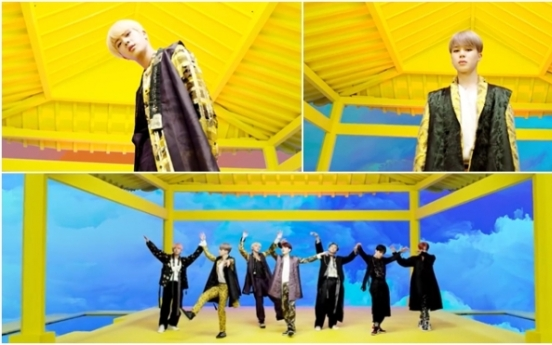 BTS' hanbok from 'Idol' MV to be put on display