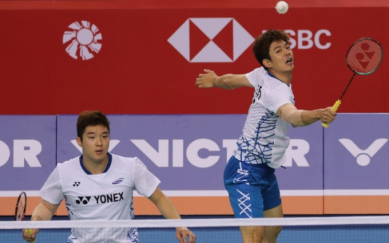Host S. Korea shut out of gold at int'l badminton competition