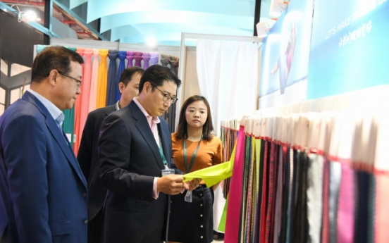 Hyosung Chairman Cho seeks expansion in China's lucrative apparel market