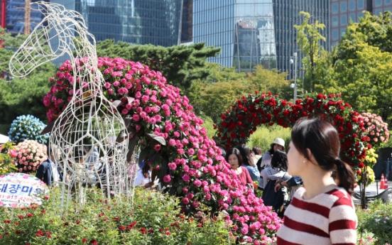 Enjoy city picnic amid flowers, trees at Seoul Garden Show