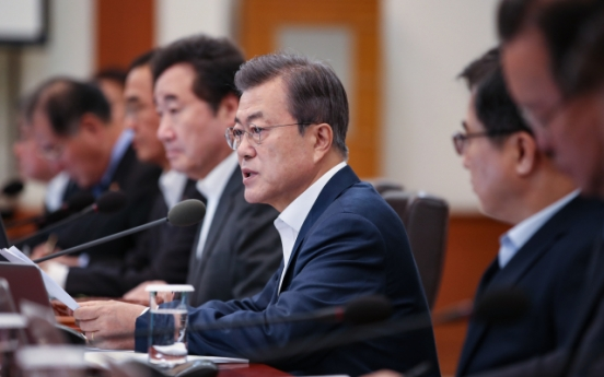 Moon says 'new order' being formed on Korean Peninsula