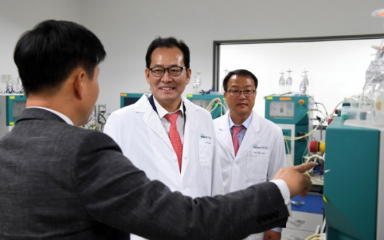 [Photo News] Deputy Finance Minister visits Celltrion headquarters