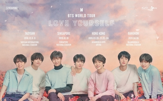 BTS announces 4 Asian destinations on upcoming world tour